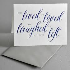 sympathy card joyce sympathy card haute papier