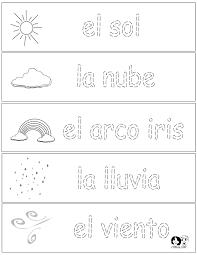 spring printouts spanish spanish for kids http www chillola