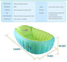Portable Bathtub For Kids New Baby Inflatable Bathtub Swimming Float Safety Bath Tub