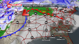frontal boundary map waff weather cold
