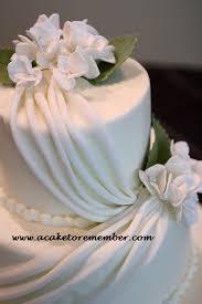 a cake to remember va how to do fondant draping cake decorating
