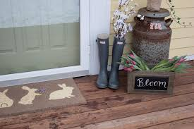 decoration blog how to decorate your front door with easter decor discover