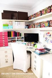 chic office ideas home office chic organized organized home office