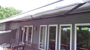 Alutex Awnings Retractable Awning Motorized Youtube