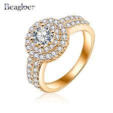 aliexpress buy beagloer new arrival ring gold aliexpress buy beagloer brand ring silver gold
