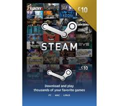 10 steam gift card buy steam wallet card 10 free delivery currys