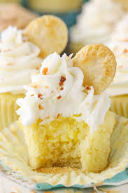 By Challenge Coconut Pie Cupcakes