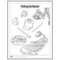 happy tooth coloring sheet dental coloring books keep kids