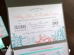 wedding pocket invitations bottom of the sea destination pocket fold wedding invitations