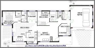 floor plans for a 4 bedroom house simple house plan with bedrooms small floor plans brilliant 4