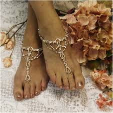 barefoot sandals for wedding something special barefoot sandals gold wedding foot