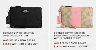 coach 50 everything sale additional 40 clearance