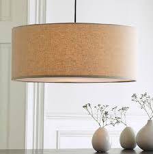 Fabric Drum Pendant Lights L Modern 3 Light Glass Chandelier Drum Shade Pendant Lighting