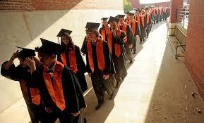 college graduation gowns waterville senior high school to gender neutral graduation