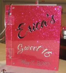 sweet 16 sign in book custom bar bat mitzvah guest books scrapbooks albums get
