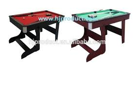 4ft pool table folding best sale modern design mini small size kid s 4ft 16ball snooker