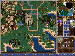Magic Mountain Map Heroes Of Might U0026 Magic 3 Scenario All For One Youtube