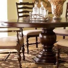 paula deen pedestal dining table foter