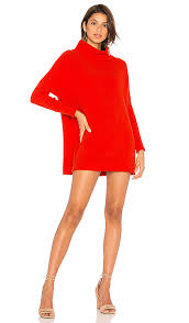 free people slouchy ottoman tunic free people ottoman slouchy tunic sweater dress in red revolve