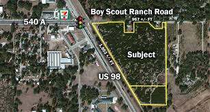 Bartow Florida Map by Us 98 U0026 Boy Scout Ranch Road In Bartow Florida U2013 Saunders Ralston