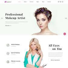 Website For Makeup Artist Latest Html5 Website Templates 15 Designazure Com