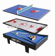 kbl 295 mini size 3 in 1 multi game table 3ft pool table with wool