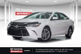 used 2017 toyota camry se in montreal laval and south shore