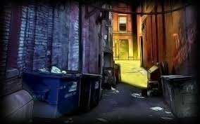 halloween pixel background image kick 2 background alley jpg steam trading cards wiki