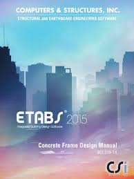etabs 2015 manual by civilax com for concrete frame design beam