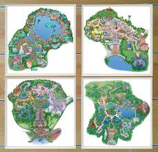 disney parks map disney park maps coasters review and giveaway wdw hints