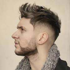 Mens Hairstyle By Face Shape by Pictures New Short Haircut For Men Heart Shape Haircut For Oblong