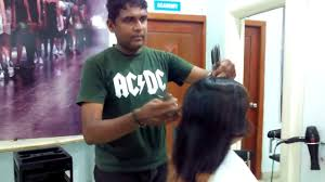 world famous ten scissors haircut mahesh academy youtube
