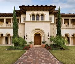 tuscan house tuscan house style with front walkway and italian cypress trees
