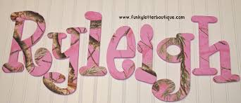 the funky letter boutique how to create an adorable pink realtree