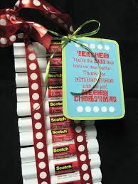pioneer party christmas teacher gift glue sticks teacher