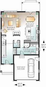 narrow lot house plans with rear garage unique gallery 2 story house plans with rear entry garage home