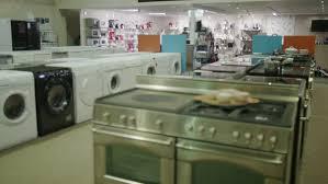 Electronics Kitchen Appliances - 4k couple shopping in a store selling kitchen appliances white