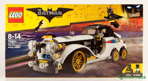 batman car lego lego batman movie 70911 the penguin arctic roller review lego