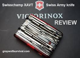 Victorinox Kitchen Knives Review Victorinox Swisschamp Xavt Swiss Army Knife Review