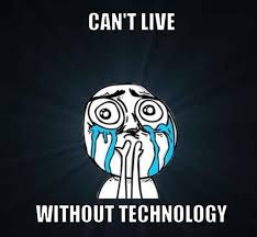 Information Technology Memes - can t live without technology it memes funny it clown memes