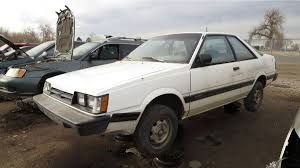 subaru station wagon 1980 junkyard treasure 1989 subaru dl liftback coupe autoweek