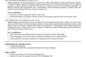 Auditor Resume Sample by Resume Objective For Internal Job Postings Internal Transfer