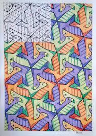 pix for u003e easy animal tessellation patterns kids u0027 art