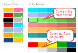 colour themes for excel changing the dashboard s color palette sisense documentation