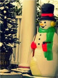 mold yard light up decoration snowman 41 light