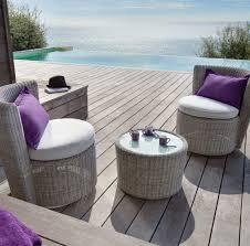canapé de jardin 2 places salon detente jardin resine meuble terrasse pas cher maisondours
