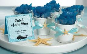 beachy wedding favors themed bridal shower centerpiece favor best house design