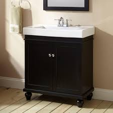 30 lander vanity black bathroom
