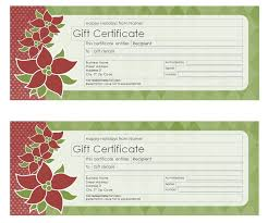 28 holiday gift certificate template free download in christmas