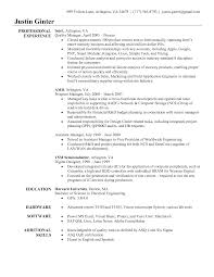 Qa Engineer Resume Qc Electrical Engineer Resume Resume For Your Job Application
